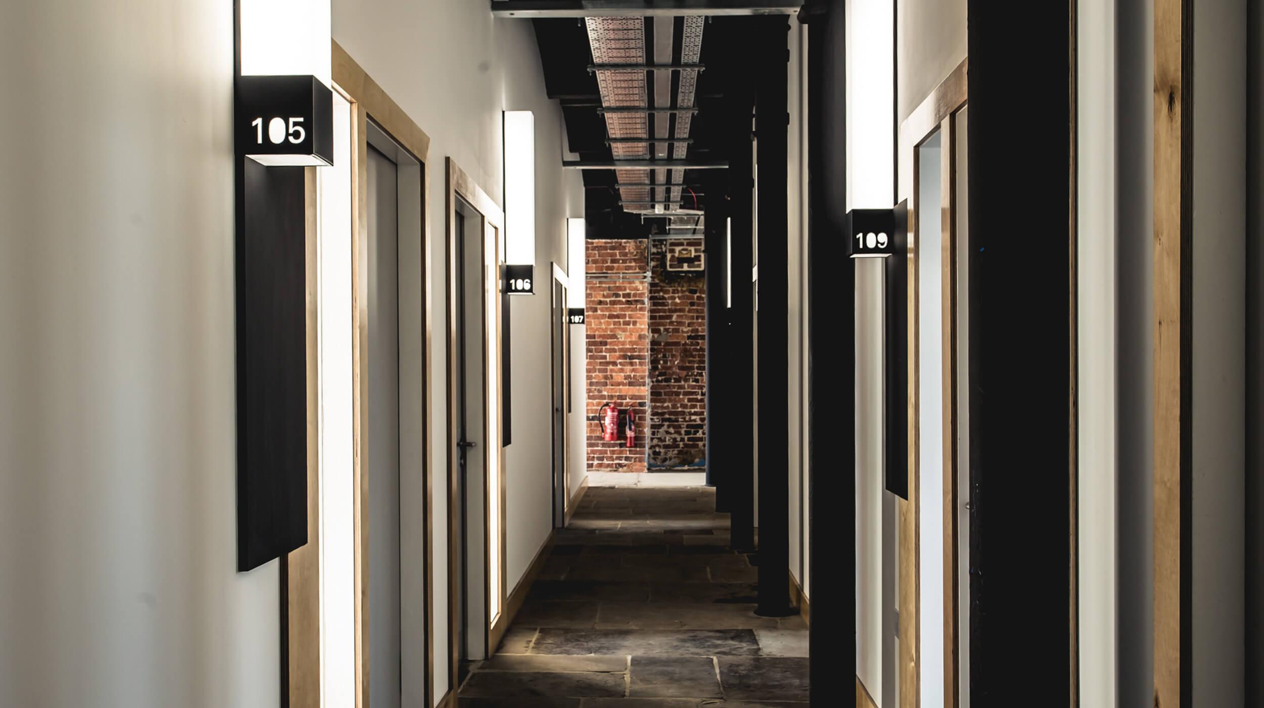 Studio spaces in Castleton Mill Leeds