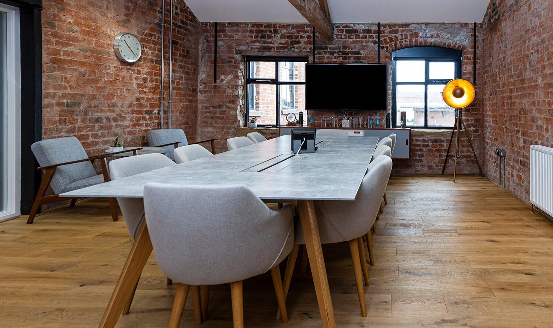 Studio meeting room at Castleton Mill