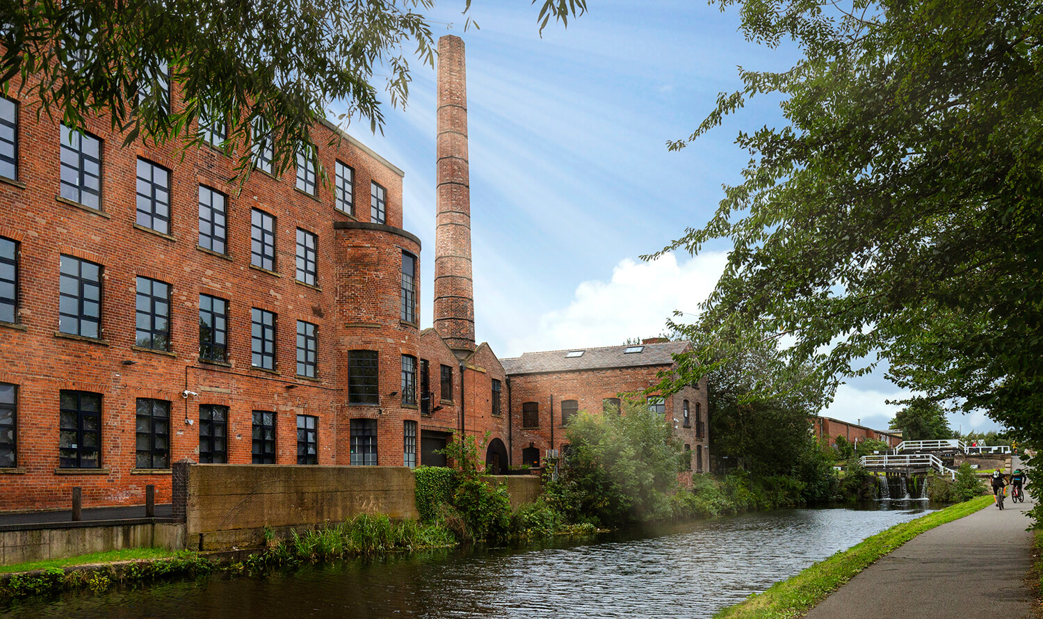 Grade II renovation: now home for many businesses in Leeds