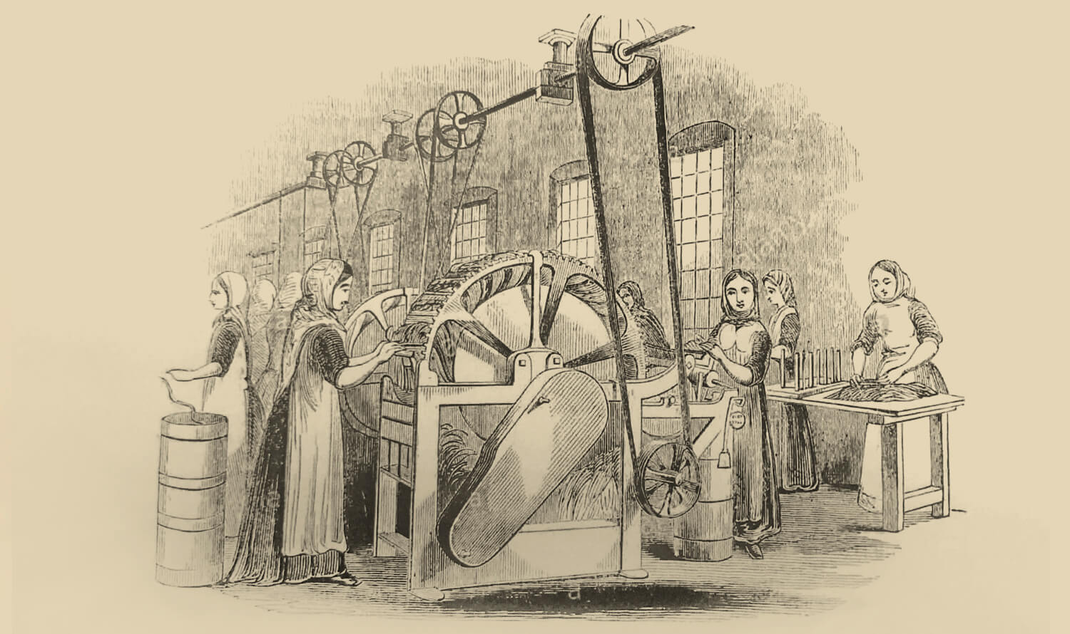 Castleton Mill's history: dyeing, weaving, scribbling & spinning
