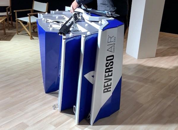 Rangement et stockage du dériveur Reverso Air series Cobalt blue