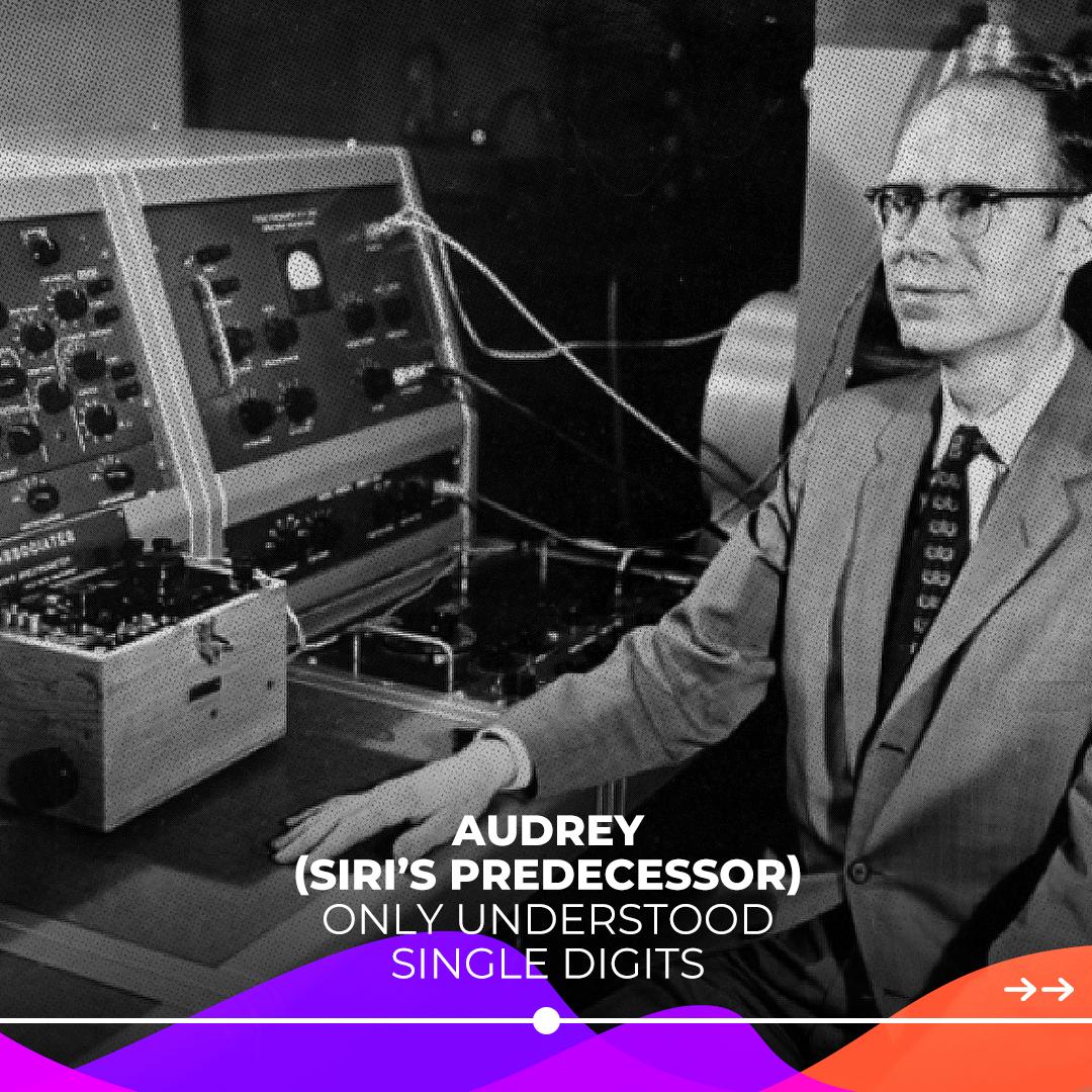 Audrey Bell Labs Spoken digits voice recognition