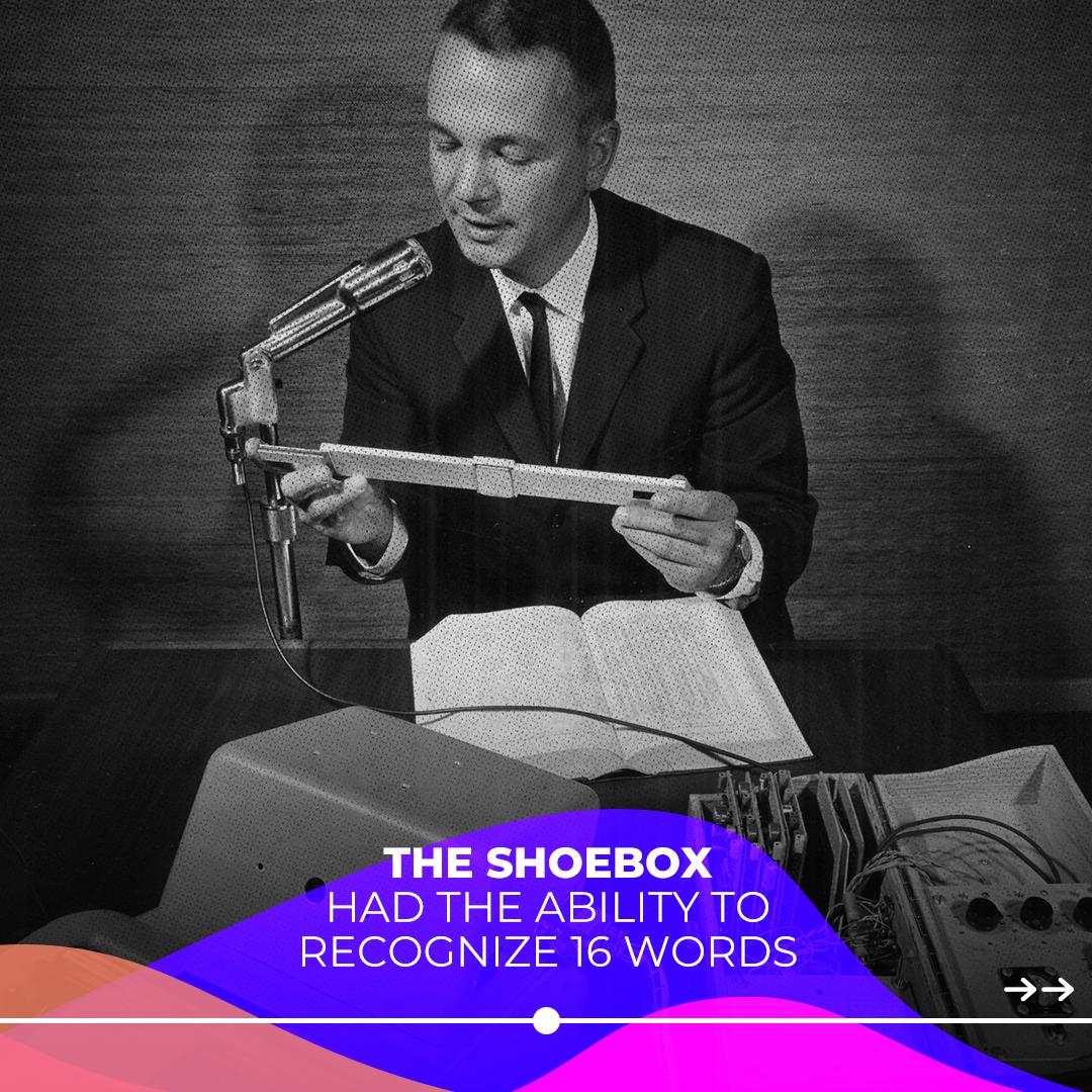IBM Shoebox English voice recognition