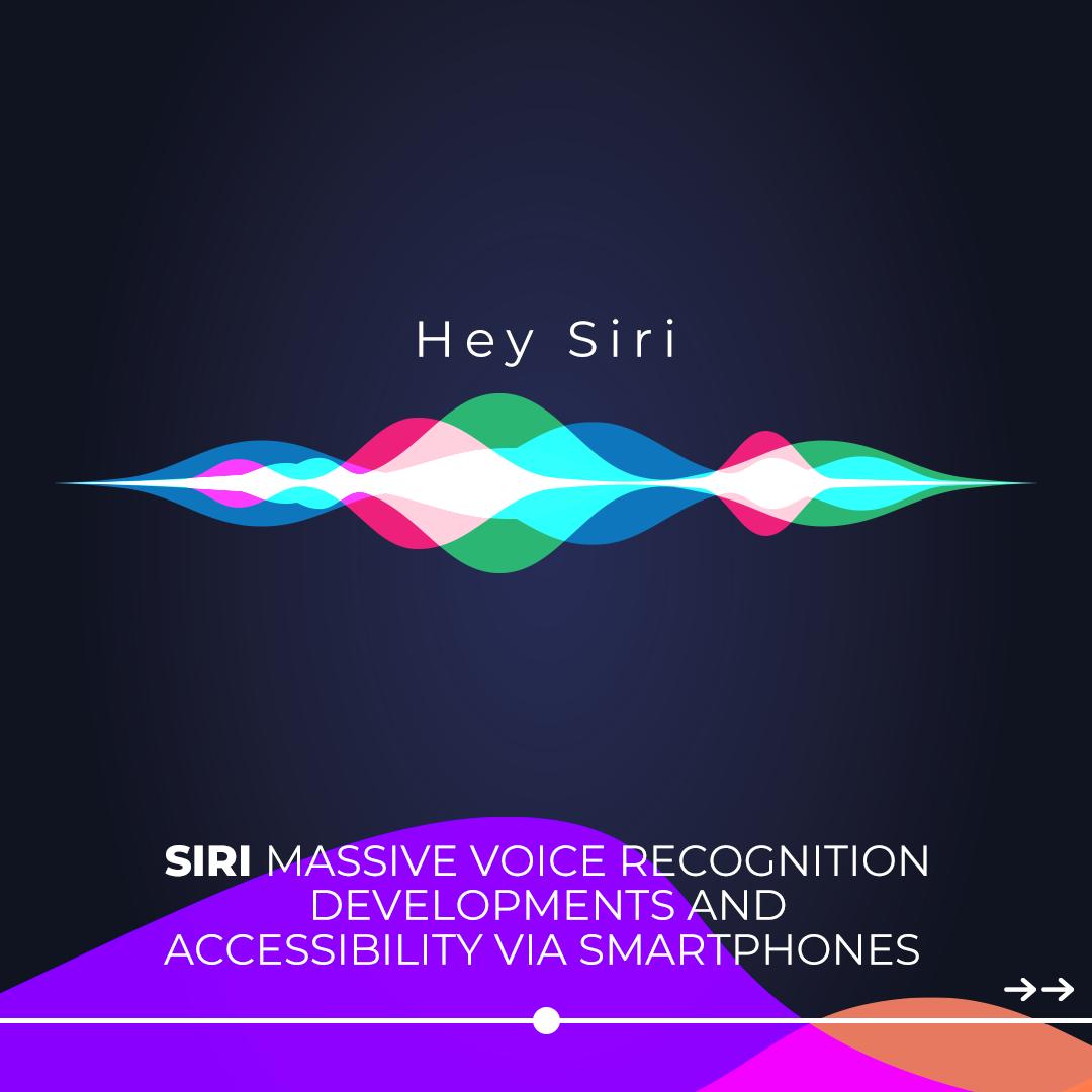 Siri massive voice recognition for smartphones