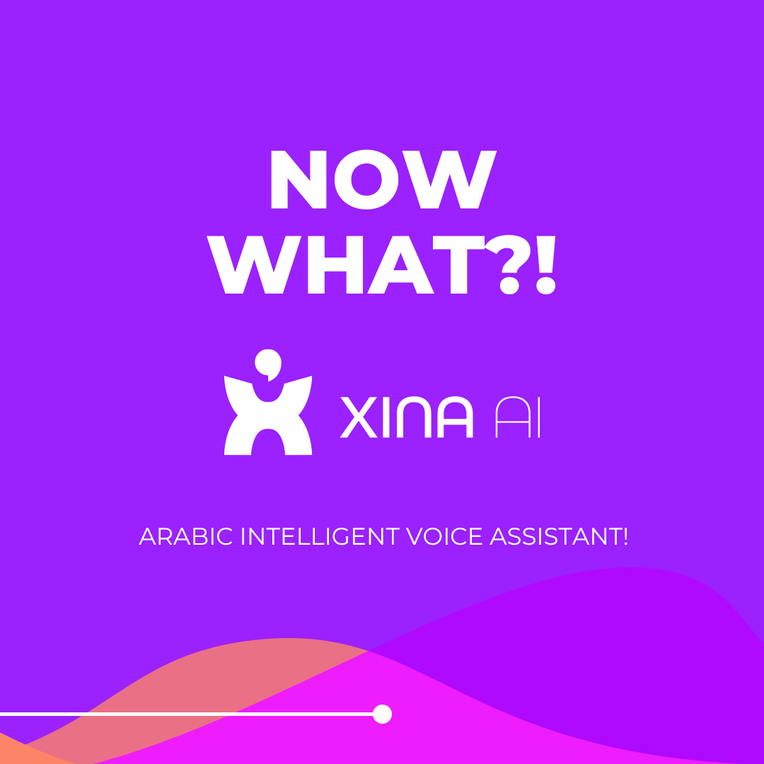 Xina Arabic voice recognition virtual assistant
