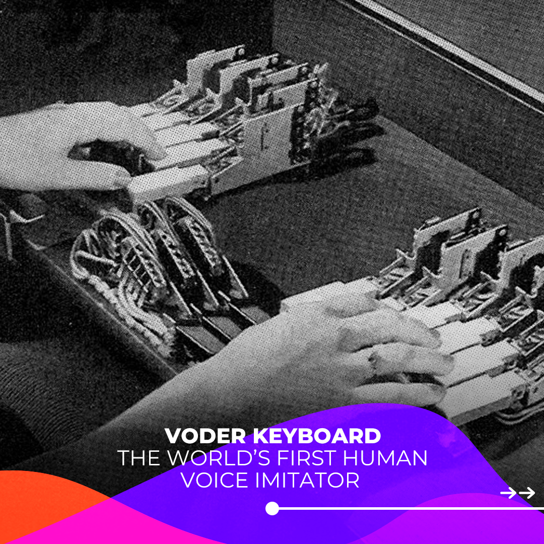 Voder Keyboard First Human Voice Imitator