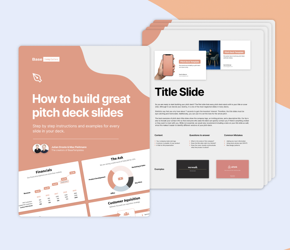 Free Pitch Deck Guide