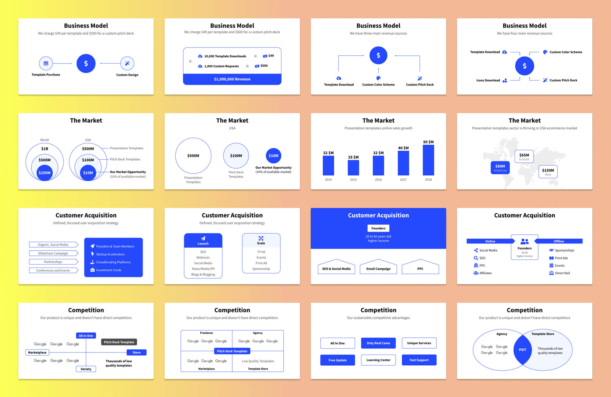 Pitch Deck Slide Examples - 1