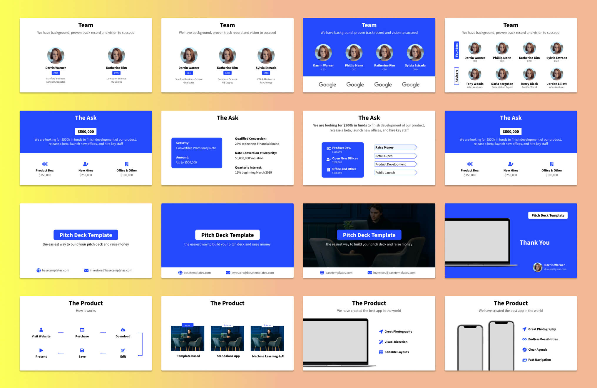Pitch Deck Slide Examples - 3