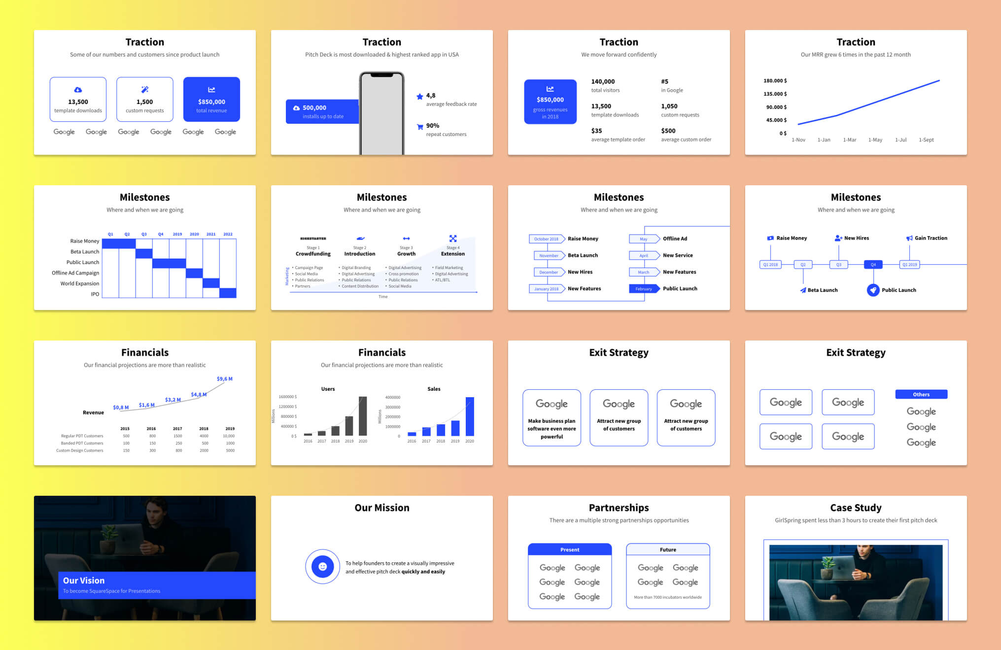 Pitch Deck Slide Examples - 4