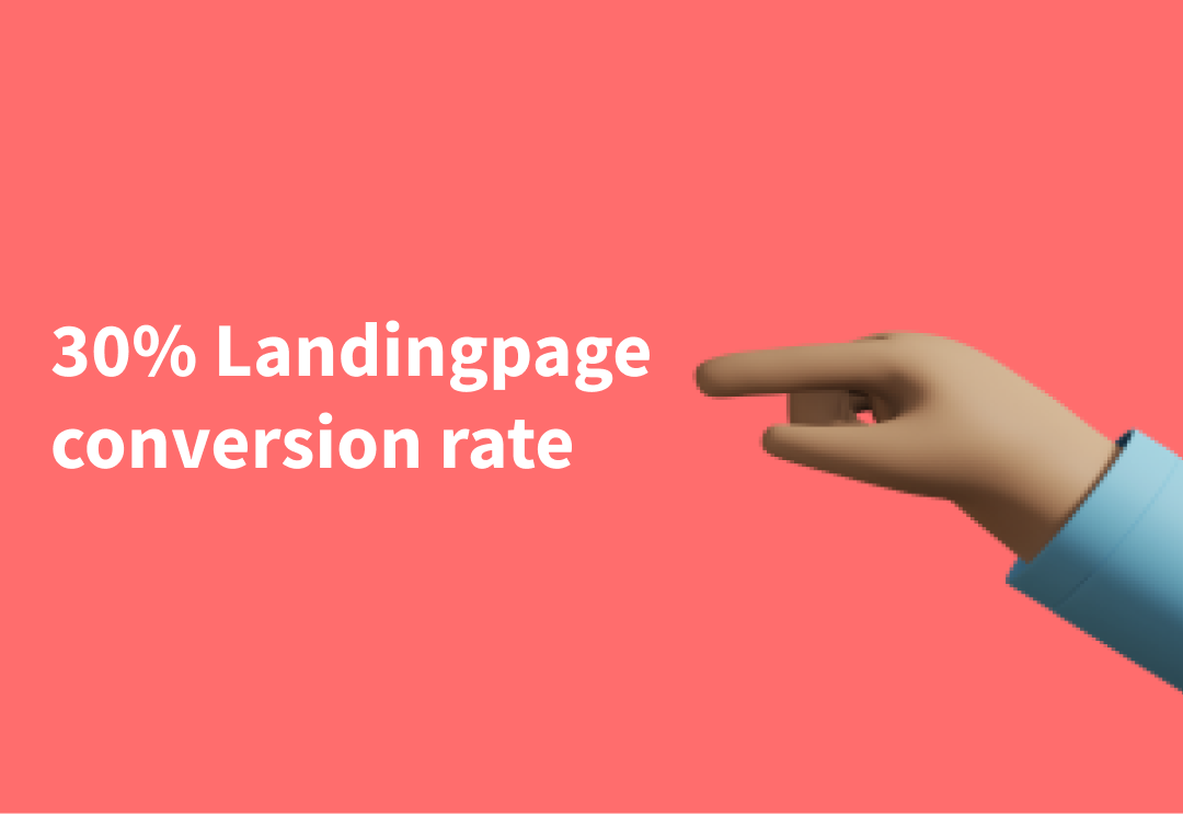 How I reached a 30% conversion rate on my landing page