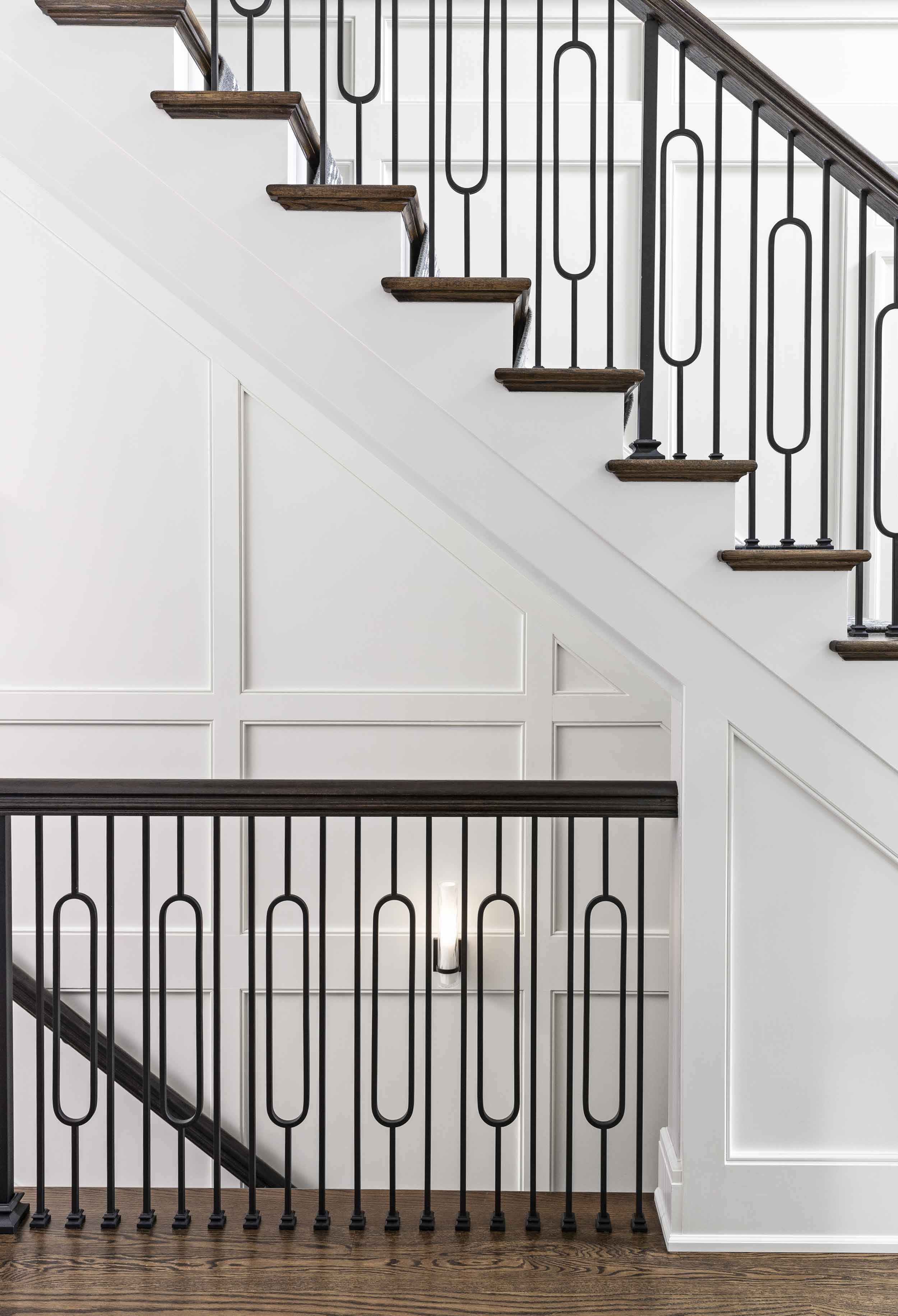 Larchlea staircase details