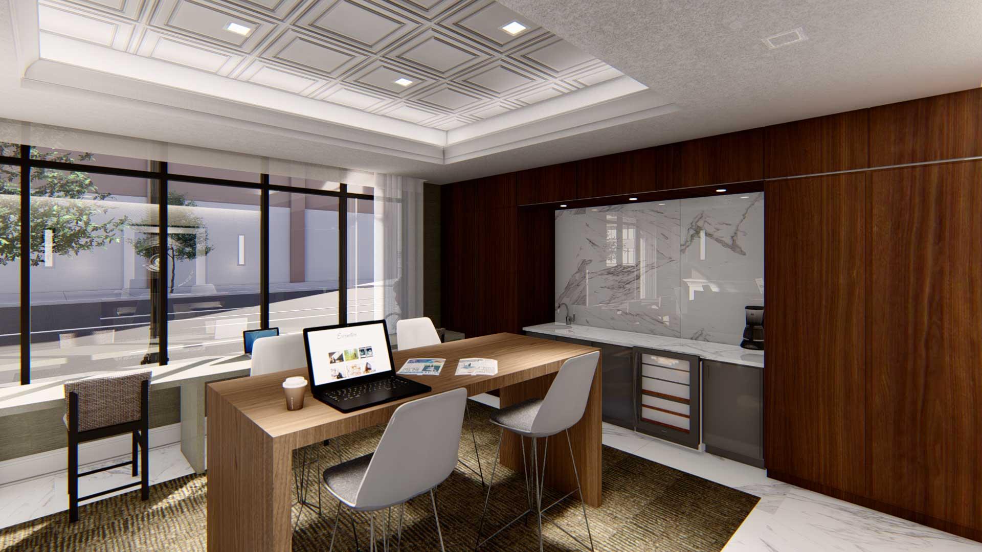 Billings Place office rendering