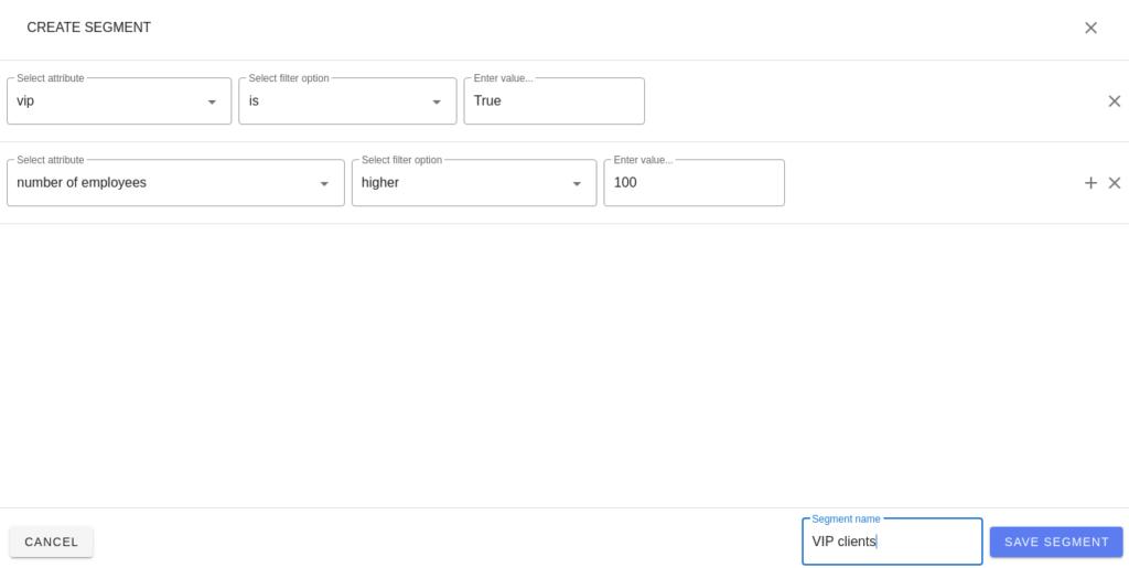 Segmenter feedback client