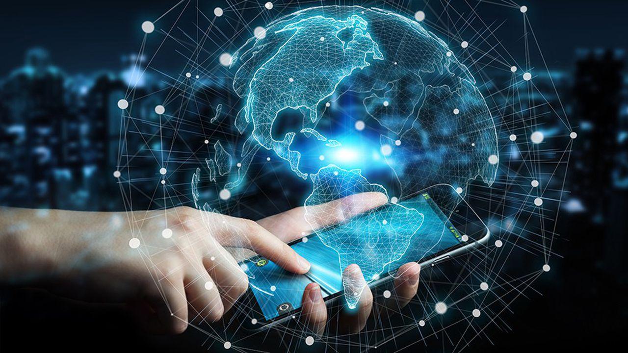 L'usage d'Internet dans le monde en cinq chiffres   Les Echos