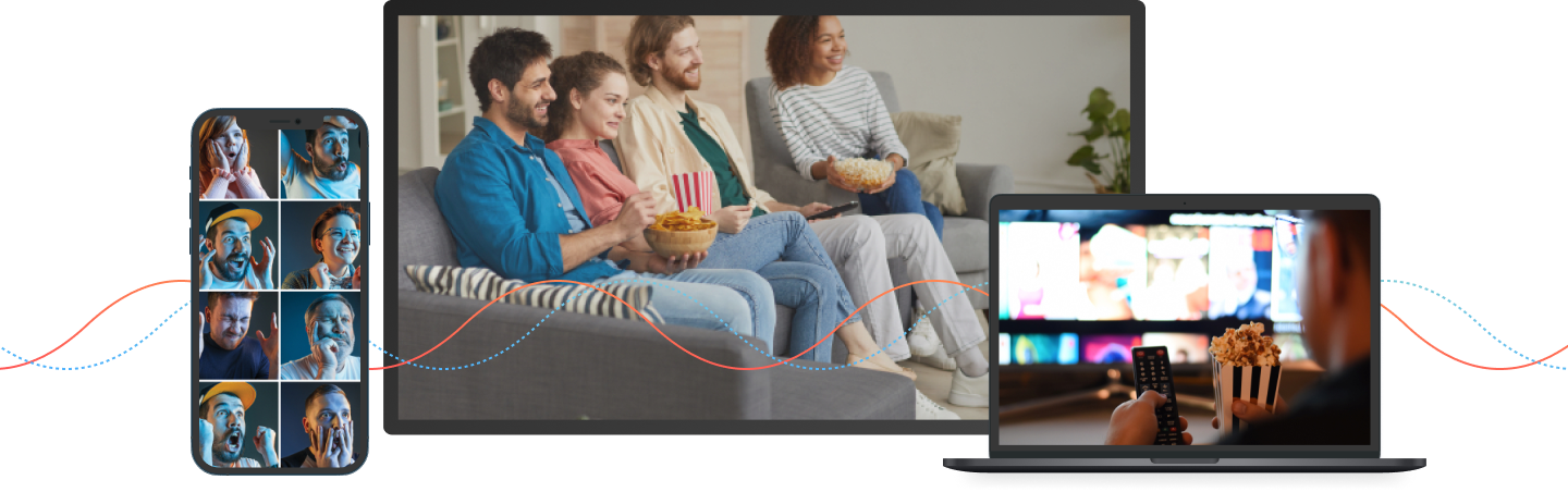 Content discovery for TV and OTT on mobile and big screen, to delight consumers