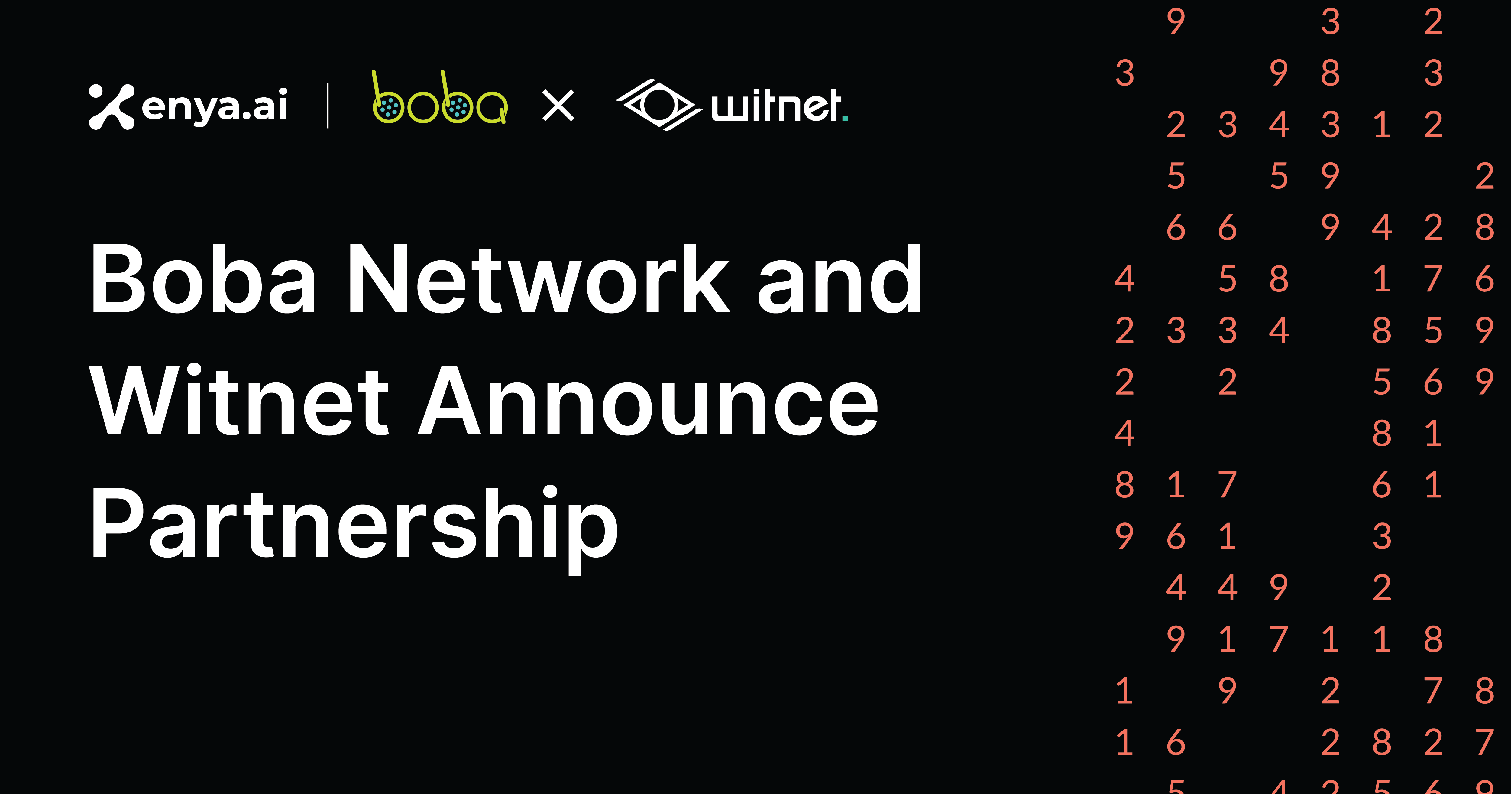 Boba Network Partners with Witnet