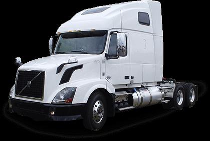White semi-truck