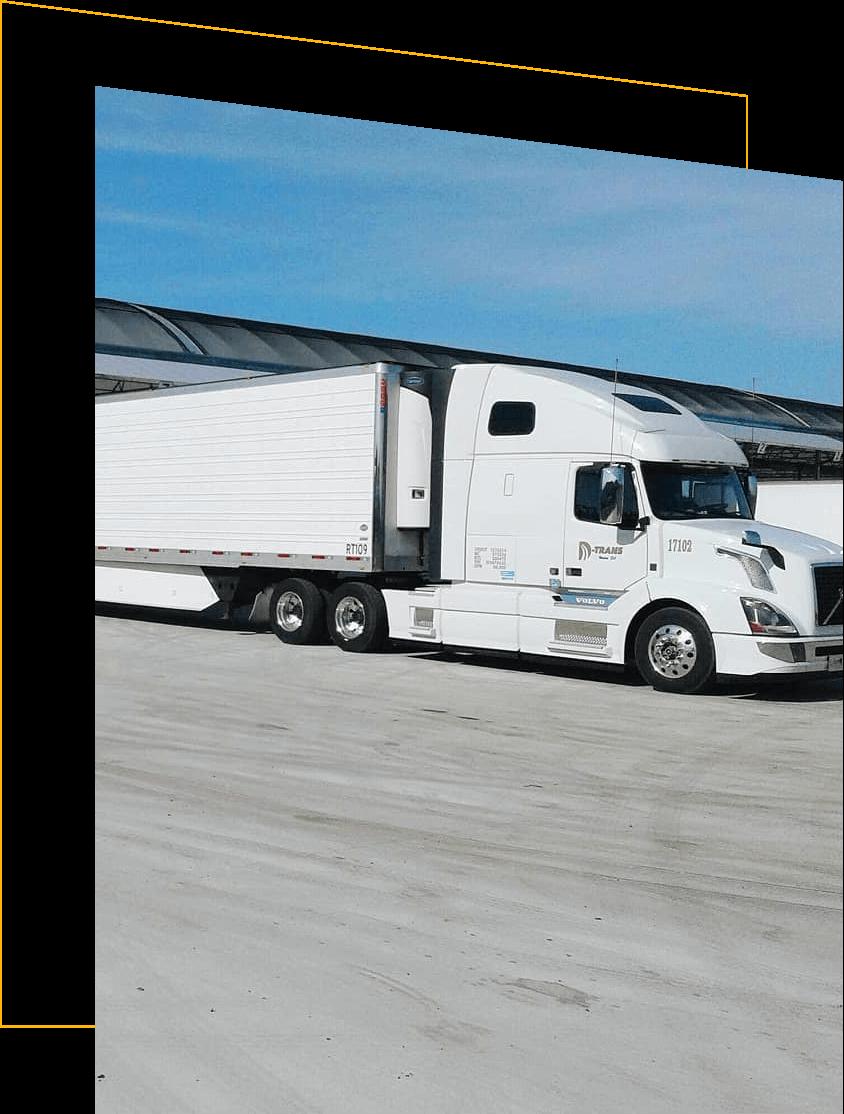 D-Trans semi-truck