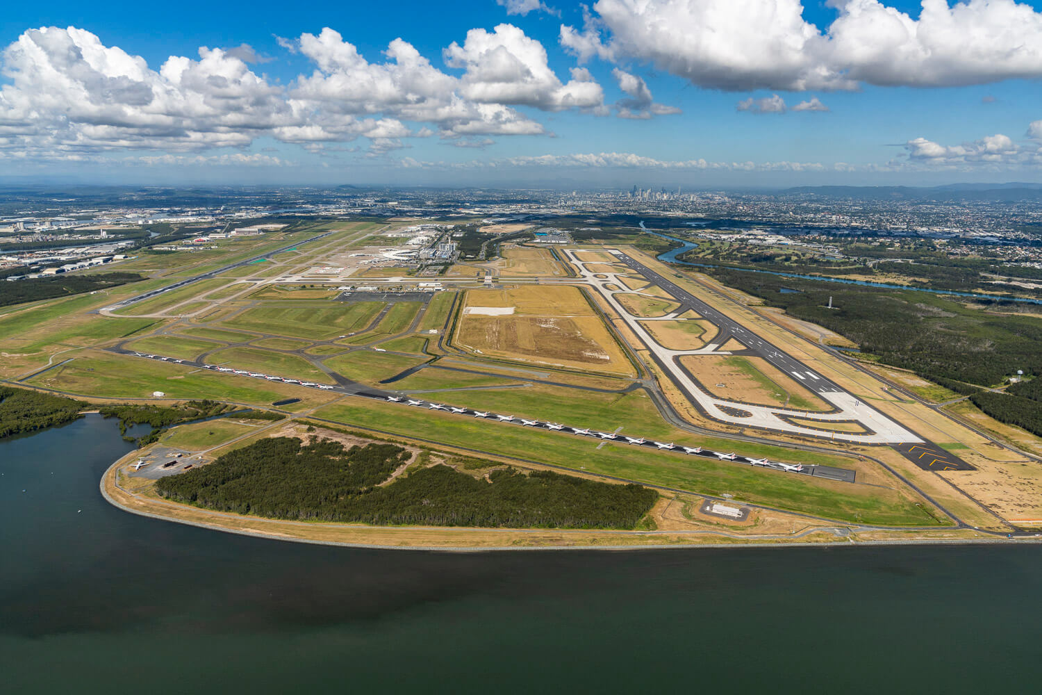 Brisbane Airport Parallel Runway