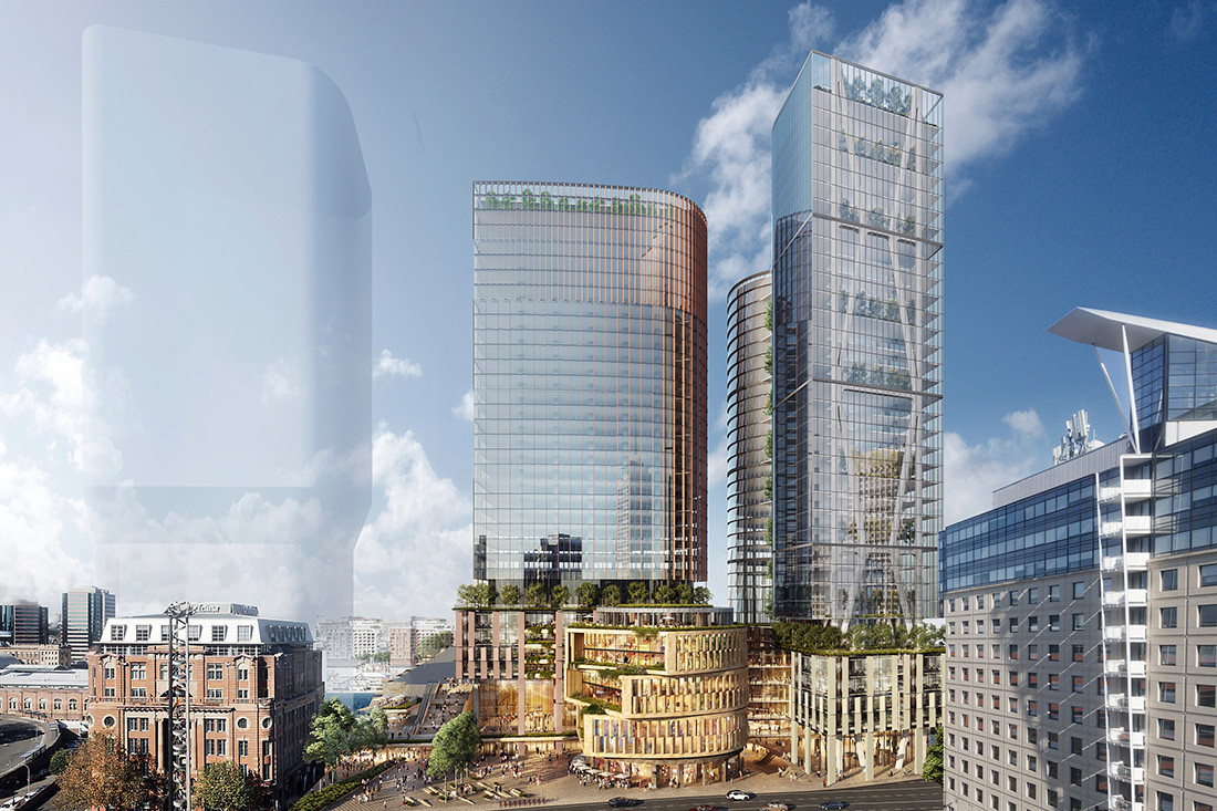 World's First AI-Driven Facade for Proposed Towers at Sydney's Tech Central