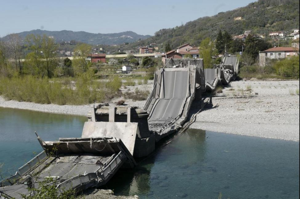 Another Bridge Collapses in Northern Italy