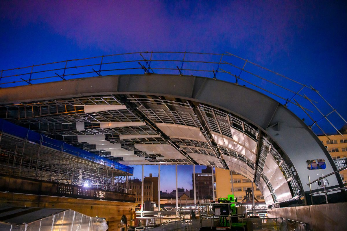 Central Station Raises the Roof: Northern Concourse Canopy Taking Shape