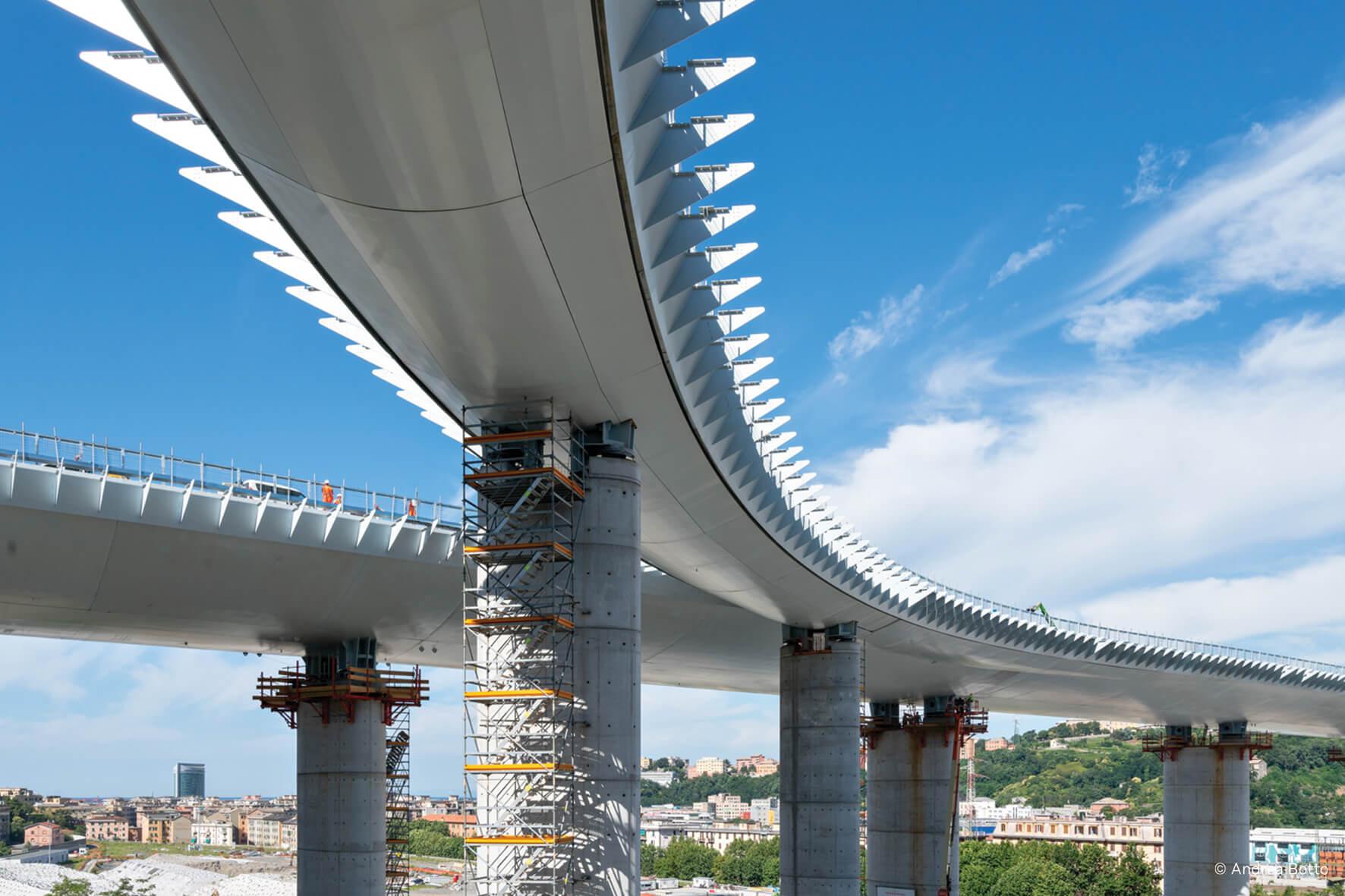 Genoa San Giorgio Bridge