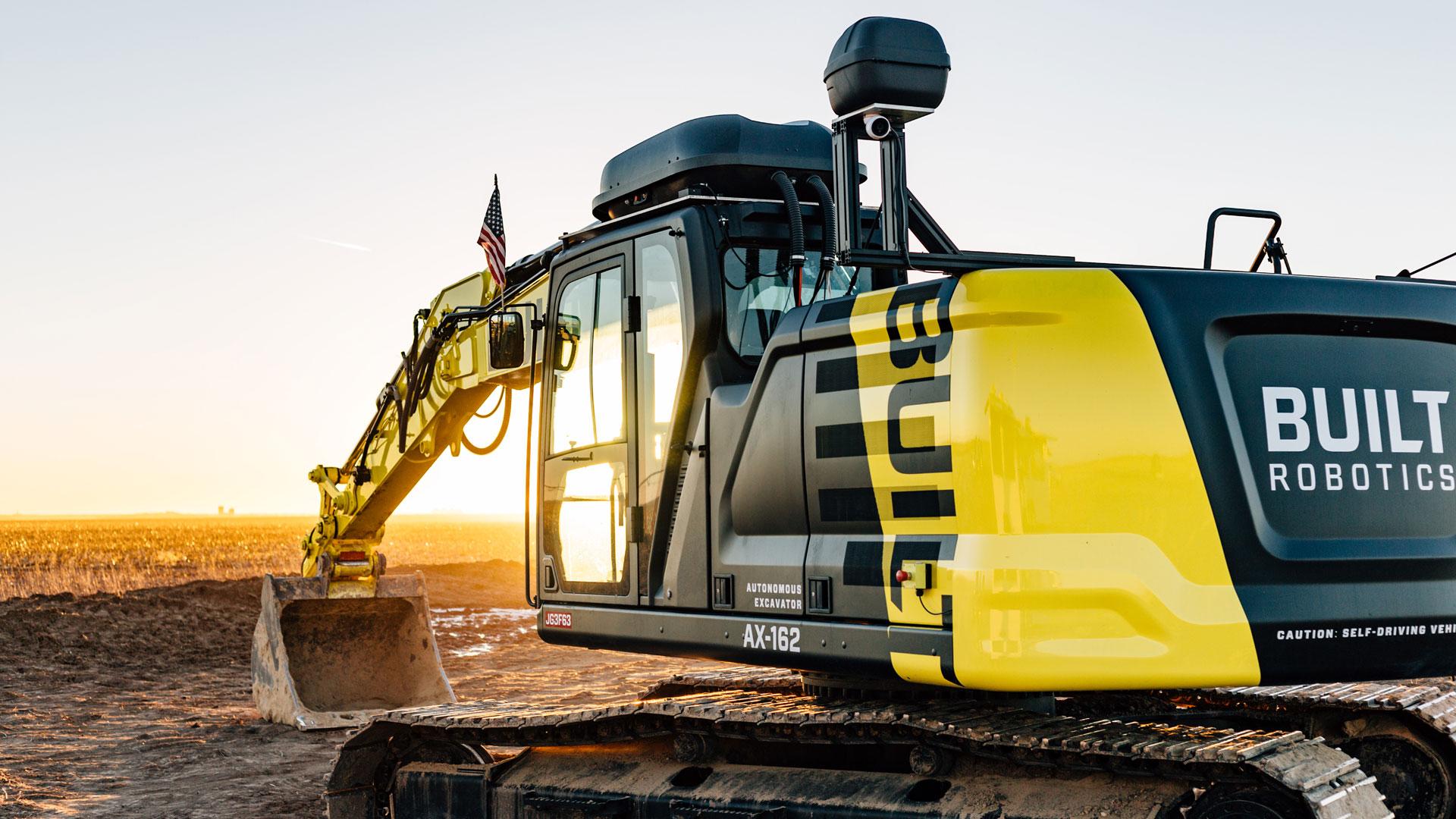 Self-Driving Excavators Hit the Market