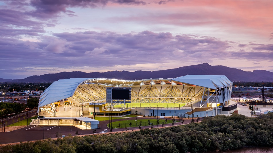 Stadium Roof Inspired by a Leaf ..and Other Winners from Australia's Most Innovative Engineers 2020