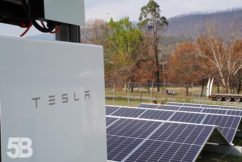 Software Billionaire's Portable Solar Provides Power to Bushfire-Hit Areas
