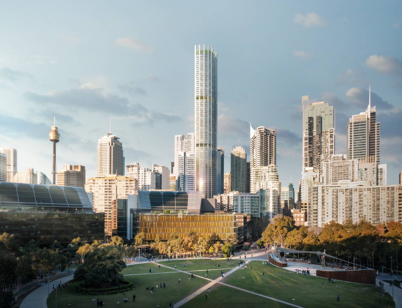 'Friendly Neighbour': Sydney's Tallest Residential Building Designed with Environment & People at the Core