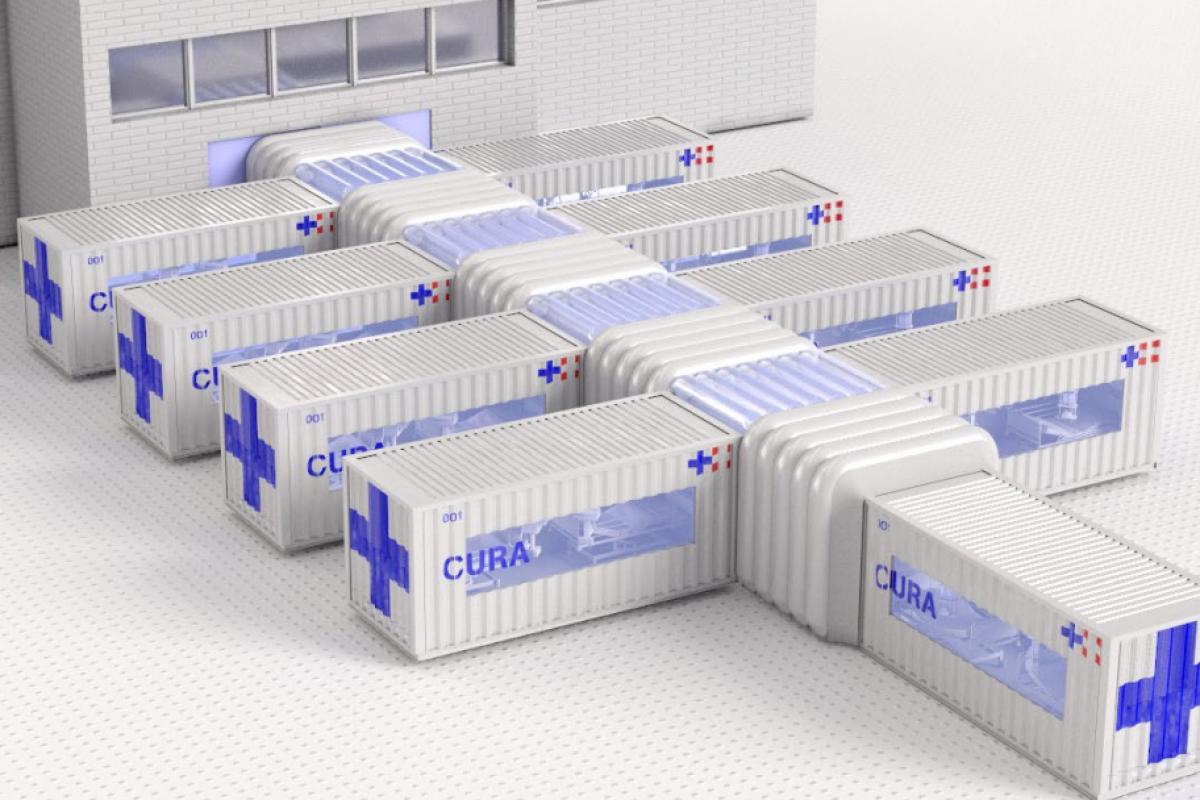 Italian-led Consortium Design Intensive Care Pods for COVID-19 Treatment