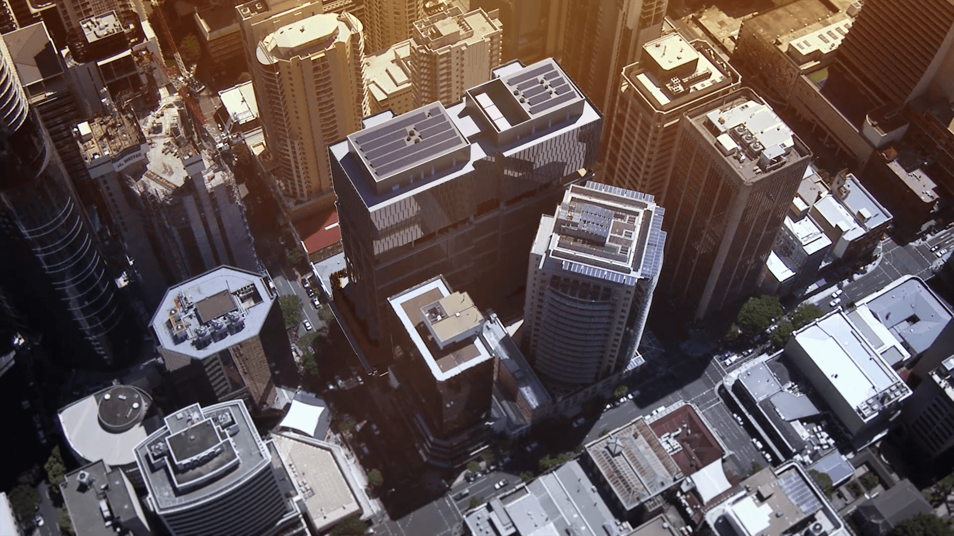 Australian-First Sees Two Buildings Joined Together for Brisbane's Midtown Centre