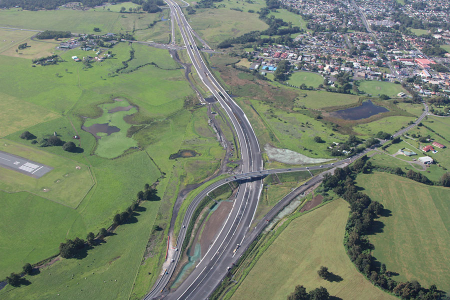 Slender Bridge Design Innovation Saves $5m in Construction Costs on the Albion Park Rail Bypass