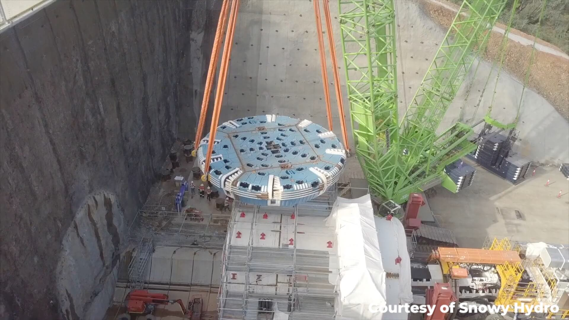The First Snowy Hydro 2.0 TBM Prepares for Launch