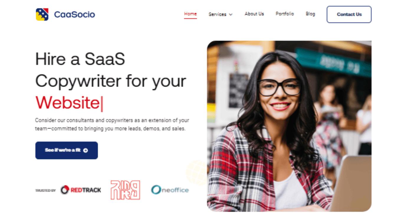 CaaSocio-landing-page-saas-copywriting-tips