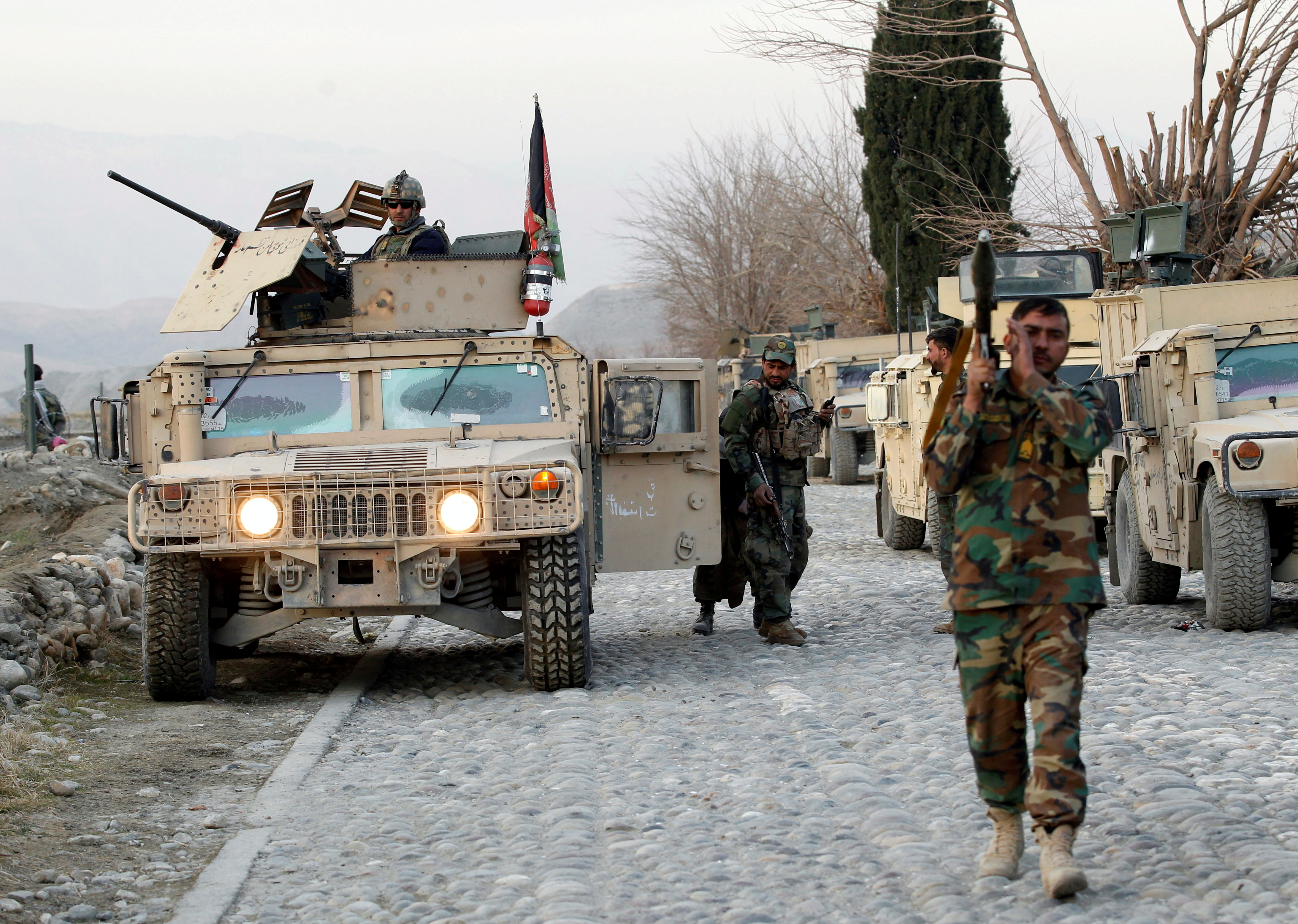 Security forces in Afghanistan