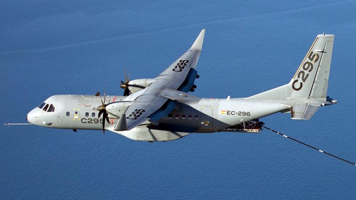 A C-295 aircraft