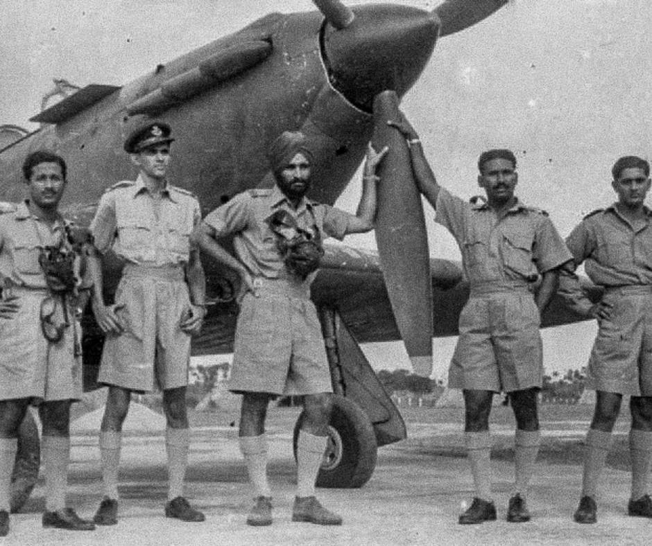 Marshal of the IAF Arjun Singh during the Second World War. Representative image.
