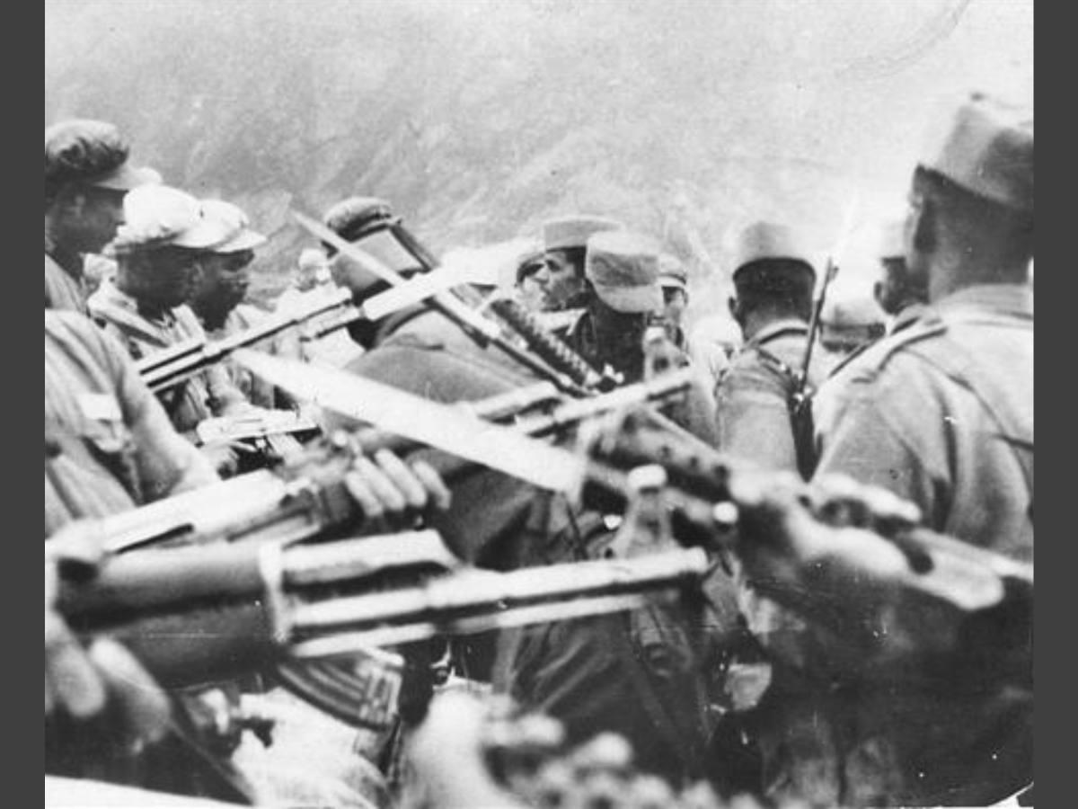 Image of Soldiers from the Indo-Sino war