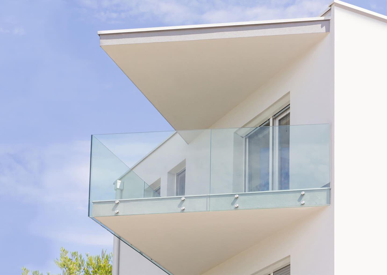 SYSTEM PUNKTUM: Glasrailing