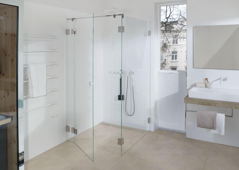 Dichtungslose Dusche