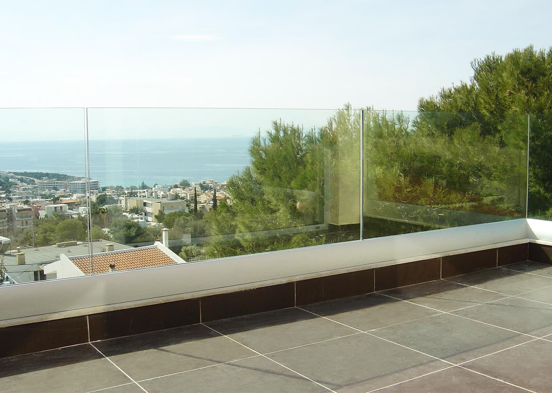 SYSTEM JAM: Wind- und Sichtschutz freitragend