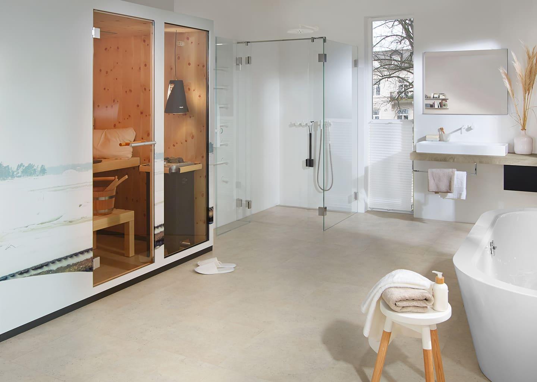Beispielbild Dichtungslose Dusche