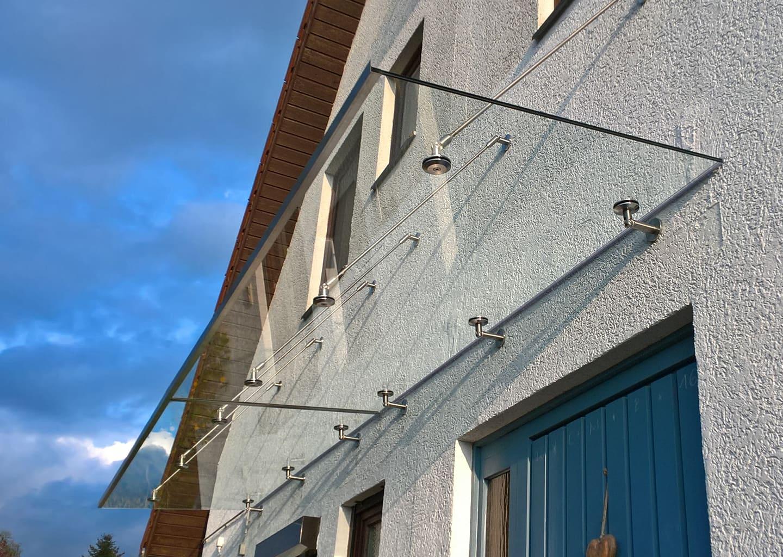 Beispielbild Glasvordach PANTHER NO. 1