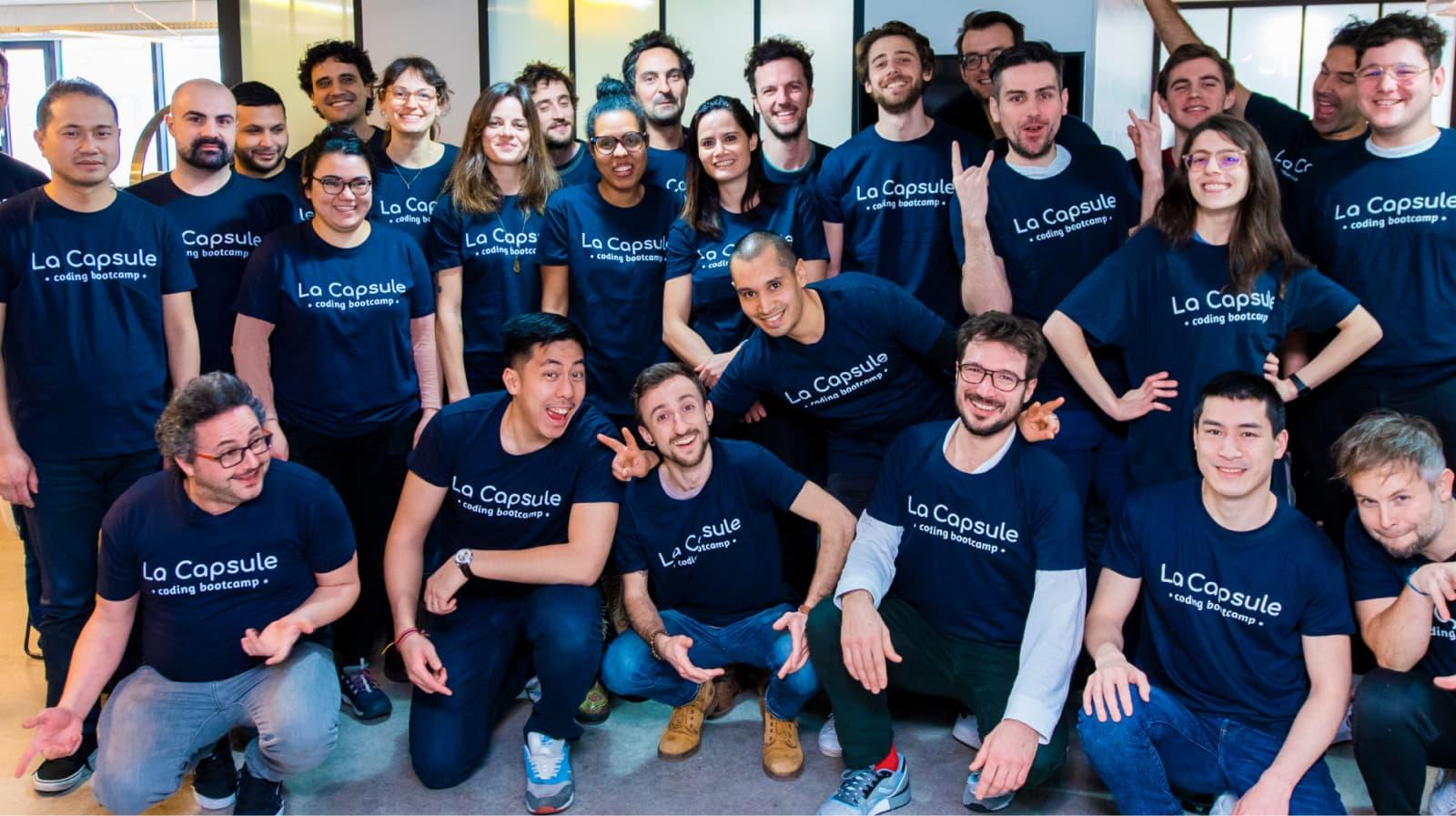 Career community La Capsule Bootcamp Paris