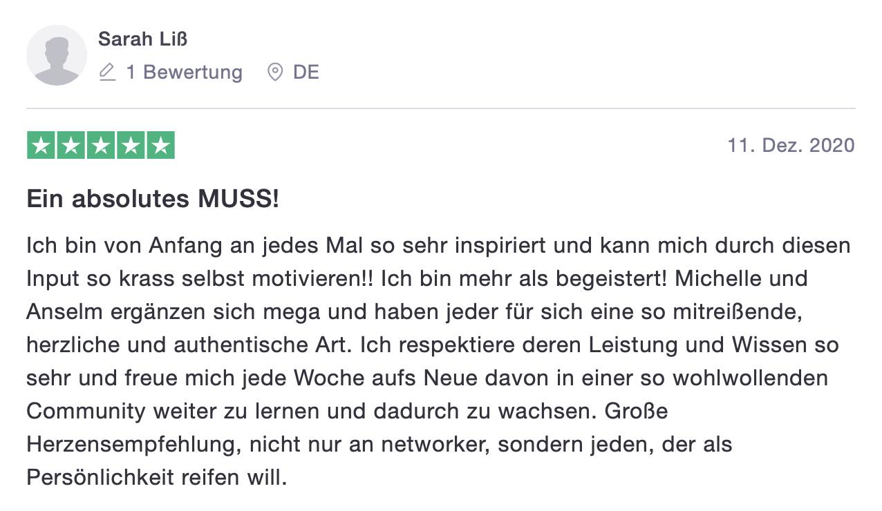 Next Heroes Kundenstimme Sarah Liß