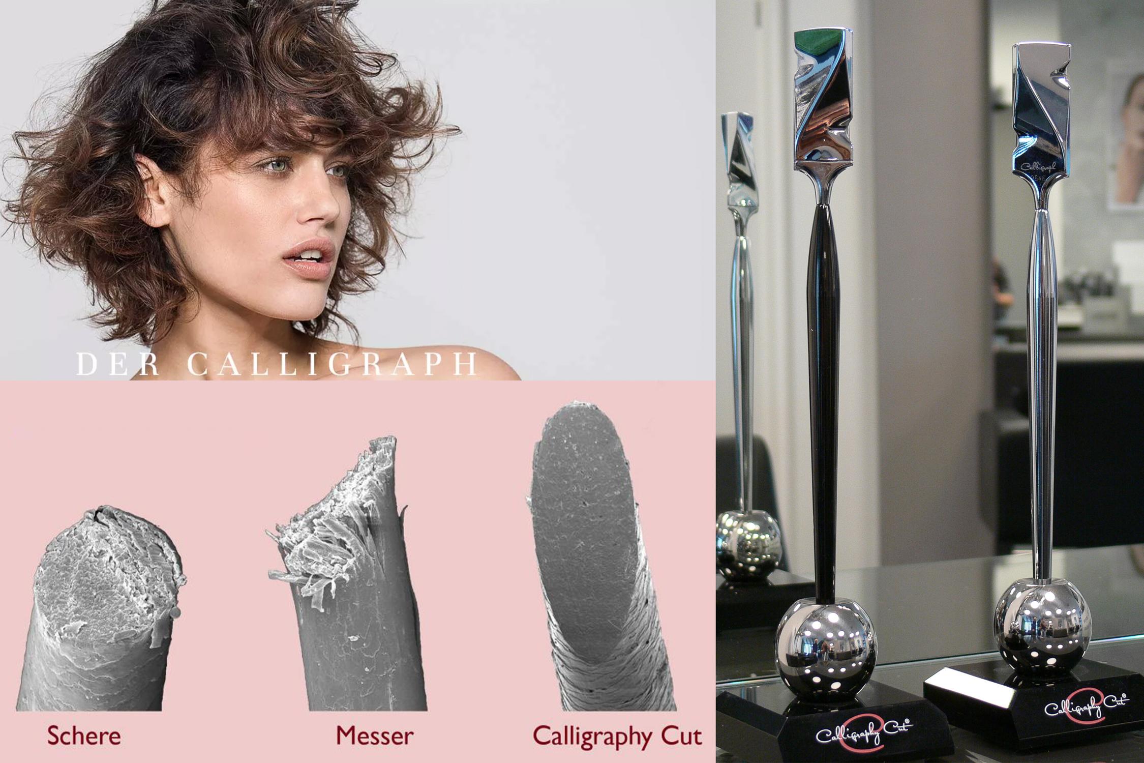 Calligraph Haarschnitt bei Mira Schmitt Friseure