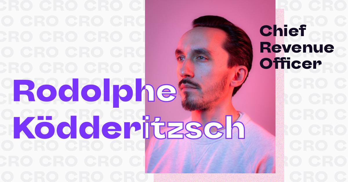 Rodolphe Ködderitzsch named Chief Revenue Officer of Pico
